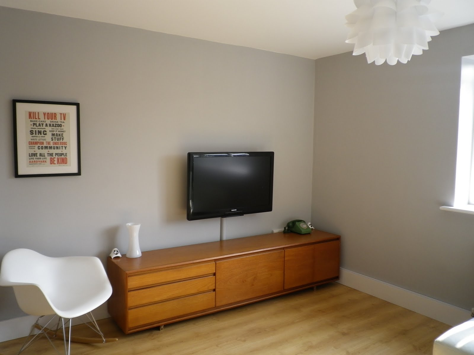 Dulux Grey Living Room