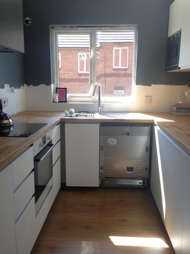 Kitchen towards window
